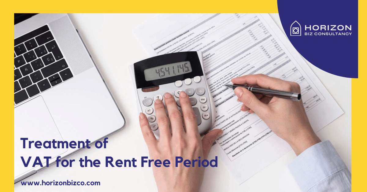 Treatment of VAT for the rent free period