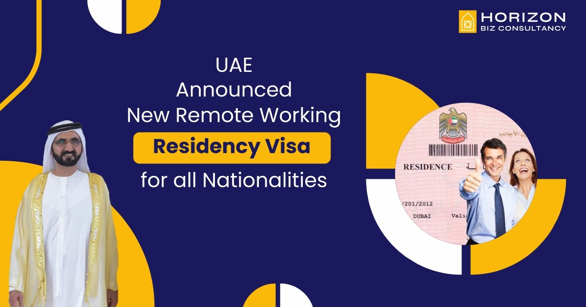 UAE Announced New Remote Working Residency Visa for all Nationalities