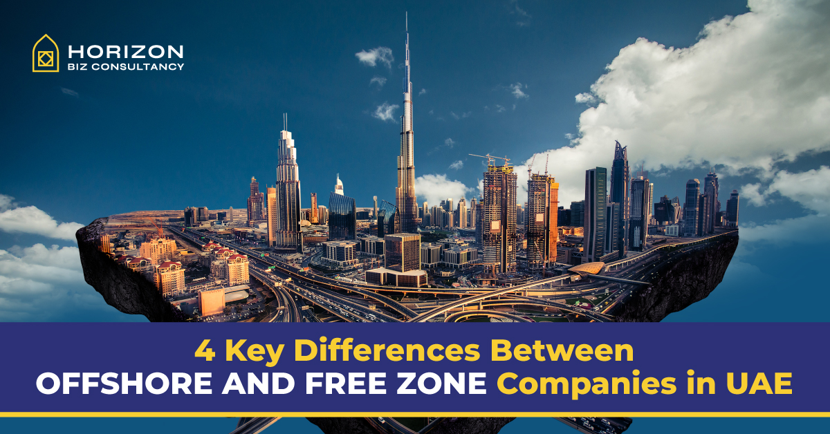 Difference between freezone & offshore company